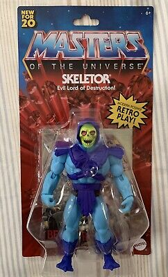 "$29.98 • Buy Mattel SKELETOR Masters Of The Universe Origins Retro 5.5"" IN HAND MOTU HE-man"
