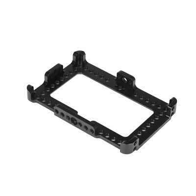 AU61.94 • Buy FEICHAO 5.5 Inch Display Camera Monitor Cage Mount Bracket For FeelWorld F6 Plus