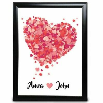 AU22.83 • Buy Personalised Anniversary Wedding Gift For Him Her Couple Birthday Gifts