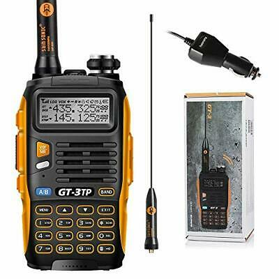 Baofeng GT-3TP Mark-III Walkie Talkie 8W/4W/1W UHF VHF 2 Way Radio Dual Band • 34.99£