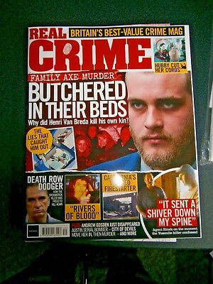 Real Crime Magazine Issue 40 (new) 2018 • 4.20£