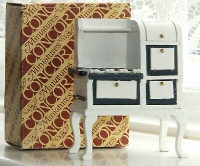 *reduced*rare Dolls House 24th Scale Pennsylvanian Dutch Oven Stove Cooker Boxed • 4.99£