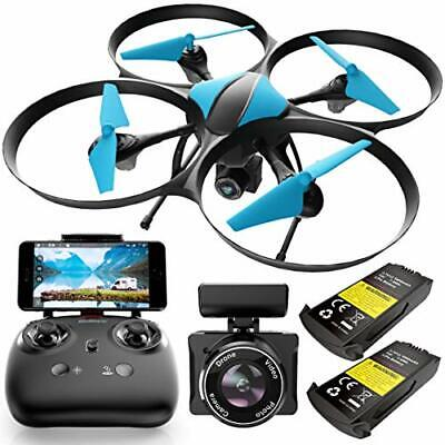 AU112.41 • Buy Force1 U49WF Drone With Camera For Adults - WiFi FPV Drone, VR Headset Compatibl