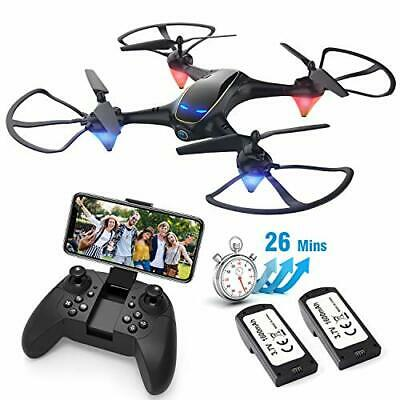 AU93.71 • Buy Drones With Camera For Adults Long Flight Time, EACHINE E38 WiFi FPV Quadcopter