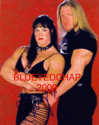 $ CDN12.67 • Buy Chyna & Triple H Wrestler 8 X 10 Wrestling Photo Wwf Wcw