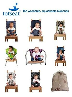 £7.92 • Buy Totseat Portable Baby High Chair Belt Seat Infant Sack Safety Seat