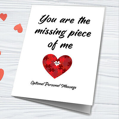 AU18.94 • Buy Valentines Day Card For Her Him Husband Wife Gifts Personalised Girlfriend Print