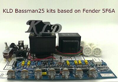 $ CDN218.51 • Buy 25 W Two Independent Channels Hand Wired DIY Amp Kits  Based On Fender  5F6A