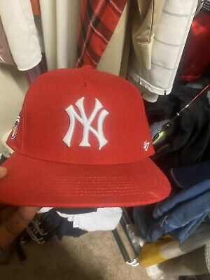 $ CDN379.71 • Buy SUPREME New York Yankees 47 Brand 5-Panel Hat Red