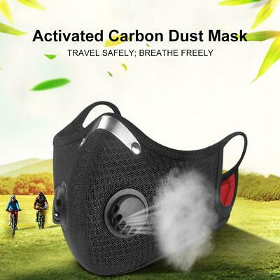 $ CDN14.99 • Buy Reusable Cloth Cotton Face Mask PM2.5 Filters 5 Layer Guard With Air Breathing