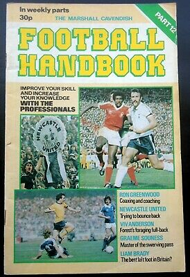 Marshall Cavendish Football  Handbook  Newcastle United  Part 12 • 2.95£