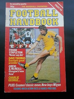 Marshall Cavendish Football  Handbook  Glasgow New Firms  Part 14 • 2.95£