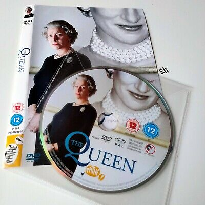The Queen DVD Disc & Artwork Helen Mirren • 1.15£