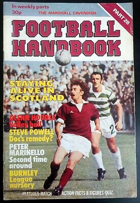 Marshall Cavendish Football Handbook  Burnley Arbroath Berwick Clydeback Part 28 • 2.95£