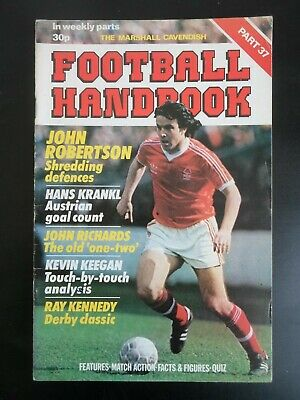 Marshall Cavendish Football Handbook  Walsall  Part 37 • 2.95£