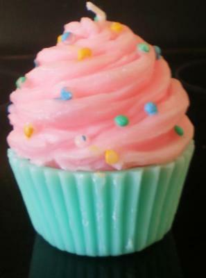 £14.99 • Buy Latex Mould For Making This Ice Cream Style Cupcake Candle/soap