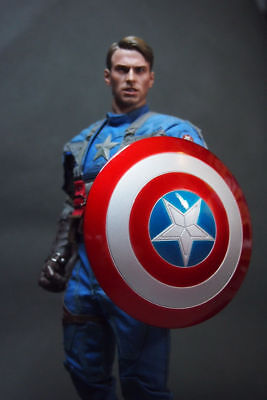 $ CDN38.94 • Buy 1/6 Captain America Shield 2.0 Metal Material Buckle Hand For Hot Toys Figure