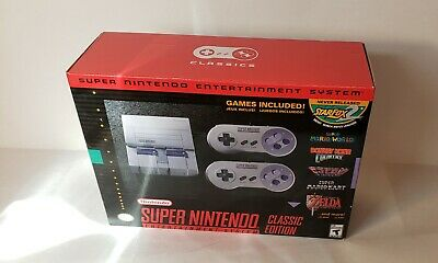 $ CDN279.99 • Buy Super Nintendo Entertainment System SNES Classic Edition Sealed Never Used