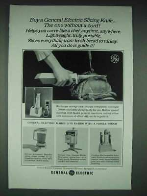 $ CDN22.40 • Buy 1965 GE Slicing Knife, Deluxe Automatic Blender Ad
