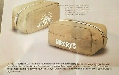 AU18.07 • Buy Farcry 5 Hope County Dopp Kit Bag Loot Crate Exclusive Travel Bag Toiletries