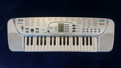 $49.99 • Buy Casio SA-75 Keyboard 100 Tones With Cord Sounds - Excellent - Single Owner