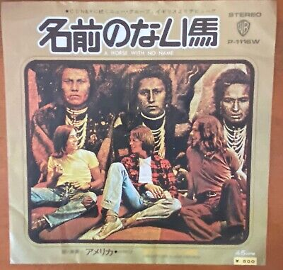 £5.78 • Buy America – A Horse With No Name Japan 78  Vinyl Warner Bros. Records – P-1116W