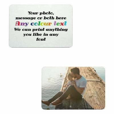 £9.59 • Buy 1 X Custom Placemat MDF - 20 X 28 Cm Personalised  With Photo / Text Su399