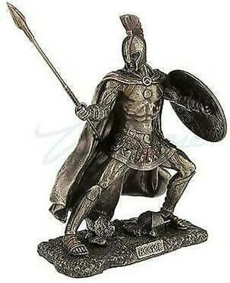Hector Champion Of Troy Greek Warrior Statue Figurine Sculpture Ornament • 95£