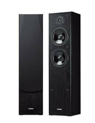 AU568 • Buy Yamaha NS-F51 Floor Standing Speakers Pair - Black, 2.0, 80w, Movies, Music, NEW