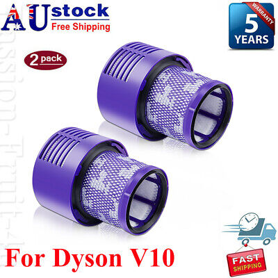 AU24.99 • Buy Vacuum Filter For Dyson All V10 Series Cyclone Absolute Animal SV12 Total-2 PACK
