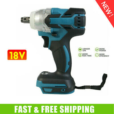 Torque Impact Wrench Brushless Cordless Replacement For Makita Battery Body • 22.90£