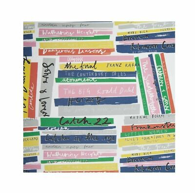 £2.99 • Buy Sheet Of Book Stack Wrapping Paper
