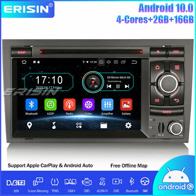 £236.07 • Buy Android 10.0 Car Stereo Audi A4 S4 RS4 RNS-E Seat Exeo DAB+ Sat Nav SWC OBD TPMS