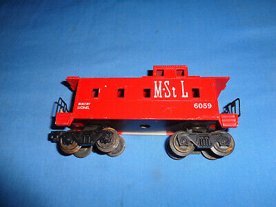 $24.95 • Buy Lionel #6059  MStL Caboose. Red Painted Version