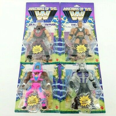 $109.99 • Buy WWE Masters Of The Universe Series 3: Strowman/Rock/Undertaker/Day COMPLETE SET