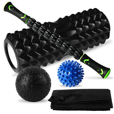 AU30.36 • Buy Massage Set Muscle Relief Kit Fascia Training Pack Roller Stick Foam Roller O1G8