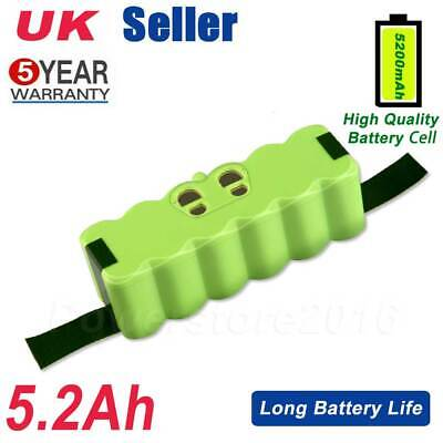 5.2Ah Li-ion Battery For IRobot Roomba 500 600 700 800 595 620 630 650 660 780 • 19.59£
