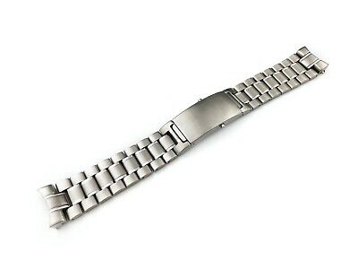 20mm 22mm Silver Stainless Steel Strap Band Bracelet Fit OMEGA SeaMaster Watch • 34.50£