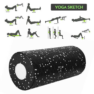AU15.48 • Buy 2pcs Soft Hard Yoga Foam Roller Set For Exercise Fitness Physical Therapy Q0Y8