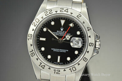 $ CDN9181.64 • Buy Mens Rolex Explorer II SS 40MM SEL Black Dial P Ser 16570
