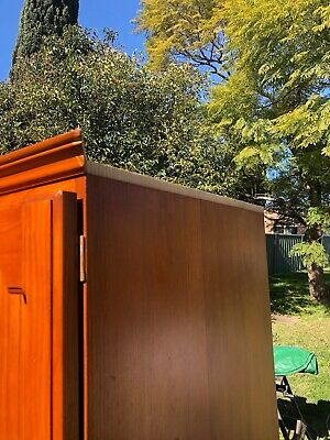 AU13.50 • Buy Wardrobe, Three Door Timber