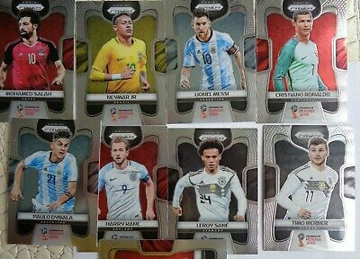 $ CDN267.63 • Buy 2018 Prizm World Cup Soccer Lot Near Complete Set 298 Cards Messi No Mbappe