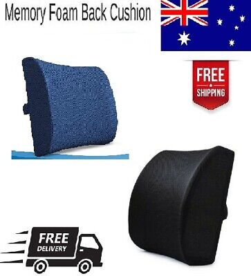 AU34.99 • Buy Orthopedic Lumbar Support Memory Foam Cushion Back Pain Relief For Office Chair
