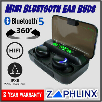 AU12.95 • Buy Wireless Bluetooth Headphones Mini Ear Buds 2021 -  For Devices Power Bank