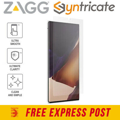 AU30.94 • Buy Galaxy Note 20 Ultra (6.9 ) 5G ZAGG InvisibleShield Ultra Clear+Screen Protector