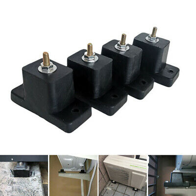 4pcs/set Air Conditioner Balcony Rubber Mount Bracket Roof Home Anti Vibration • 12.59£