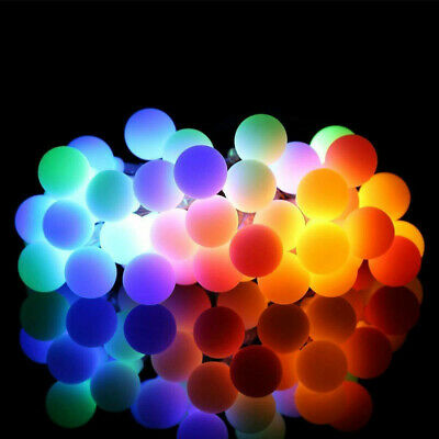 Electric Plug-in 100/200LED Berry Ball Xmas Bulb Fairy String Lights Outdoor&In • 15.99£