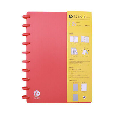 AU15.98 • Buy KW-trio Portable B5 Refillable Hardcover Writing Journal Notebook Loose Y3A0