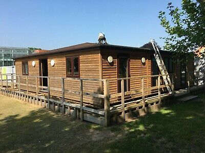 Granny Annexe Log Cabin Mobile Home Timber Frame Building  • 37,500£