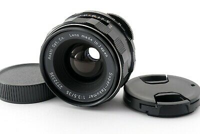 $ CDN119.70 • Buy Pentax SUPER TAKUMAR 35mm F/3.5 Wide Angle Prime Lens M42 [Exc+++] JAPAN 651870